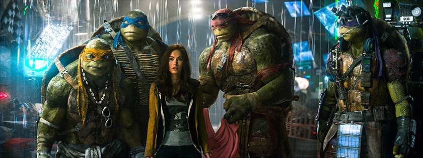 (C)2014 PARAMOUNT PICTURES. ALL RIGHTS RESERVED. TEENAGE MUTANT NINJA TURTLES IS A TRADEMARK OF VIACOM INTERNATIONAL INC.