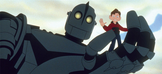 『アイアン・ジャイアント』(C)1999 THE IRON GIANT and all related characters and elements are trademarks of and Warner Bros. Entertainment Inc.