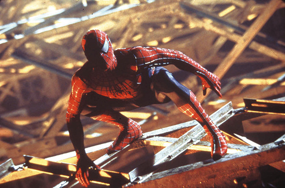 『スパイダーマン™』MOTION PICTURE © 2002 COLUMBIA PICTURES INDUSTRIES, INC. SPIDER-MAN CHARACTER TM AND © 2002 MARVEL CHARACTERS, INC. ALL RIGHTS RESERVED.