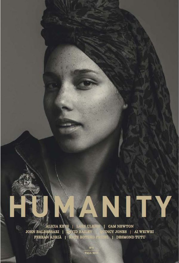 『HUMANITY MAGAZINE』NO9 アリシア・キーズ