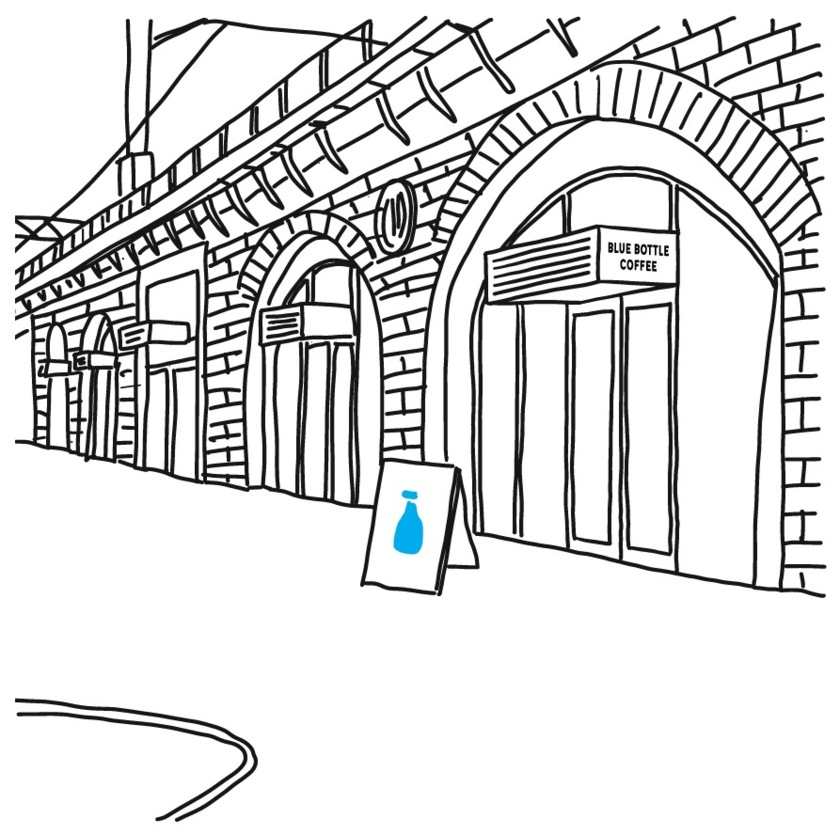 BLUE BOTTLE COFFEE POPUP STORE
