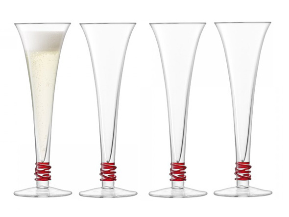 FLYMEe accessoire / フライミーアクセソワ LSA International PROSECCO FLUTE SET4